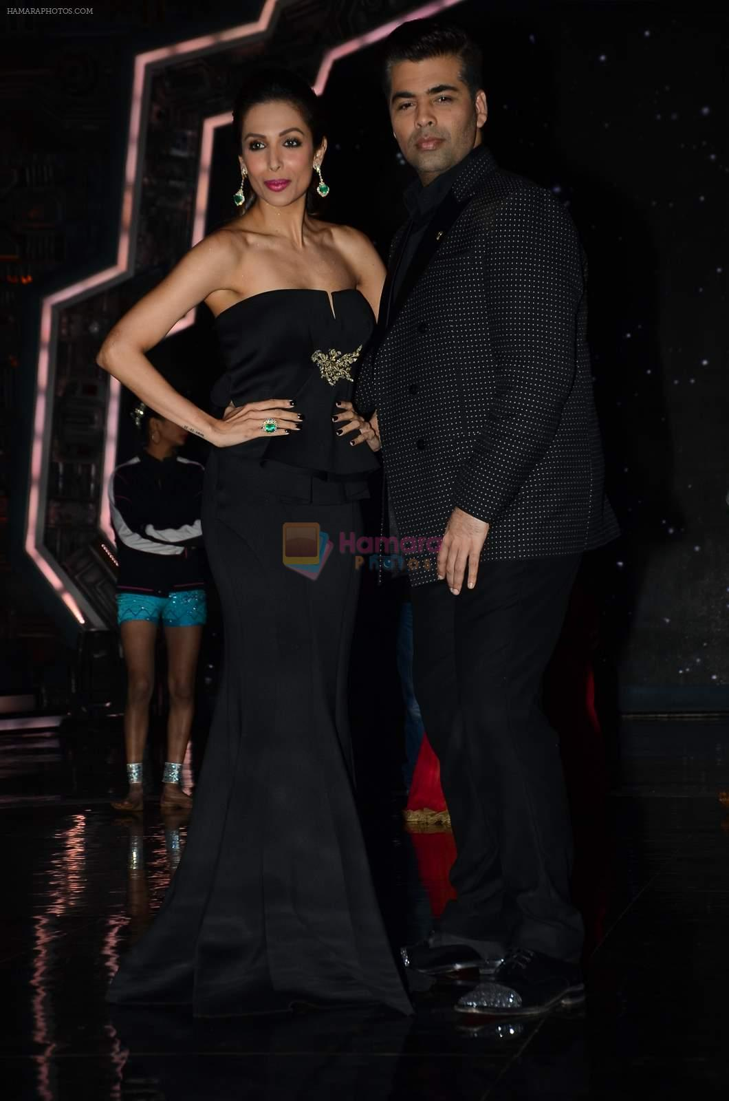 Malaika Arora Khan, Karan Johar at IGT grand finale in Filmcity, Mumbai on 27th June 2015