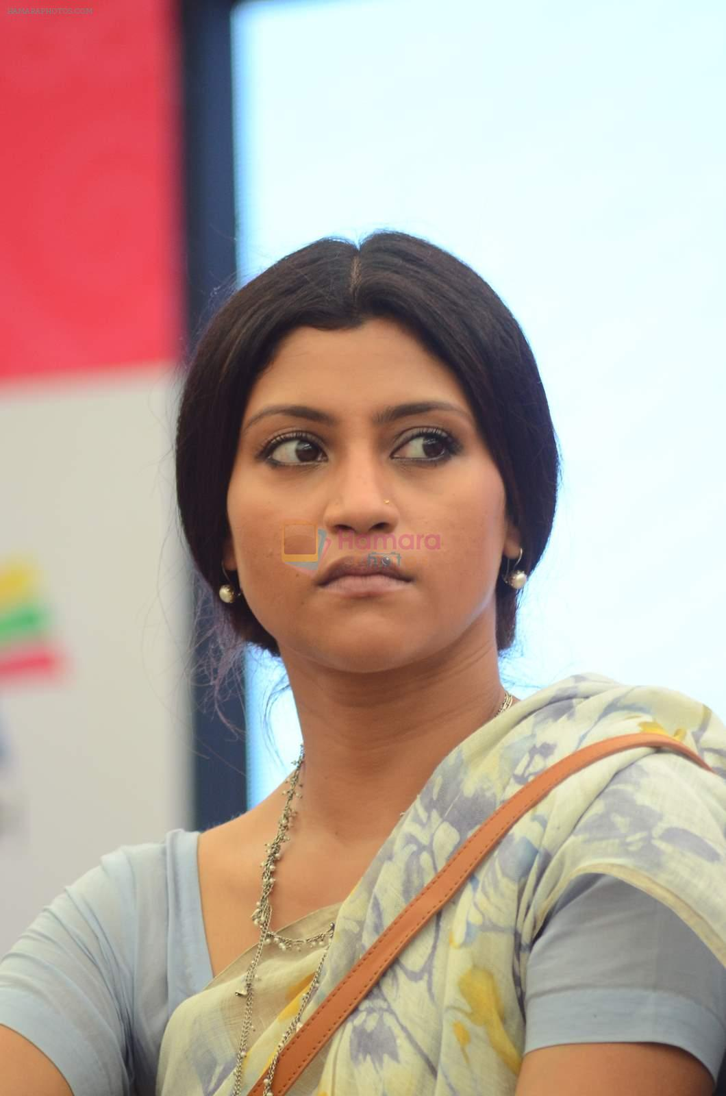 Konkona Sen Sharma at Career connect press meet in Kurla on 27th June 2015