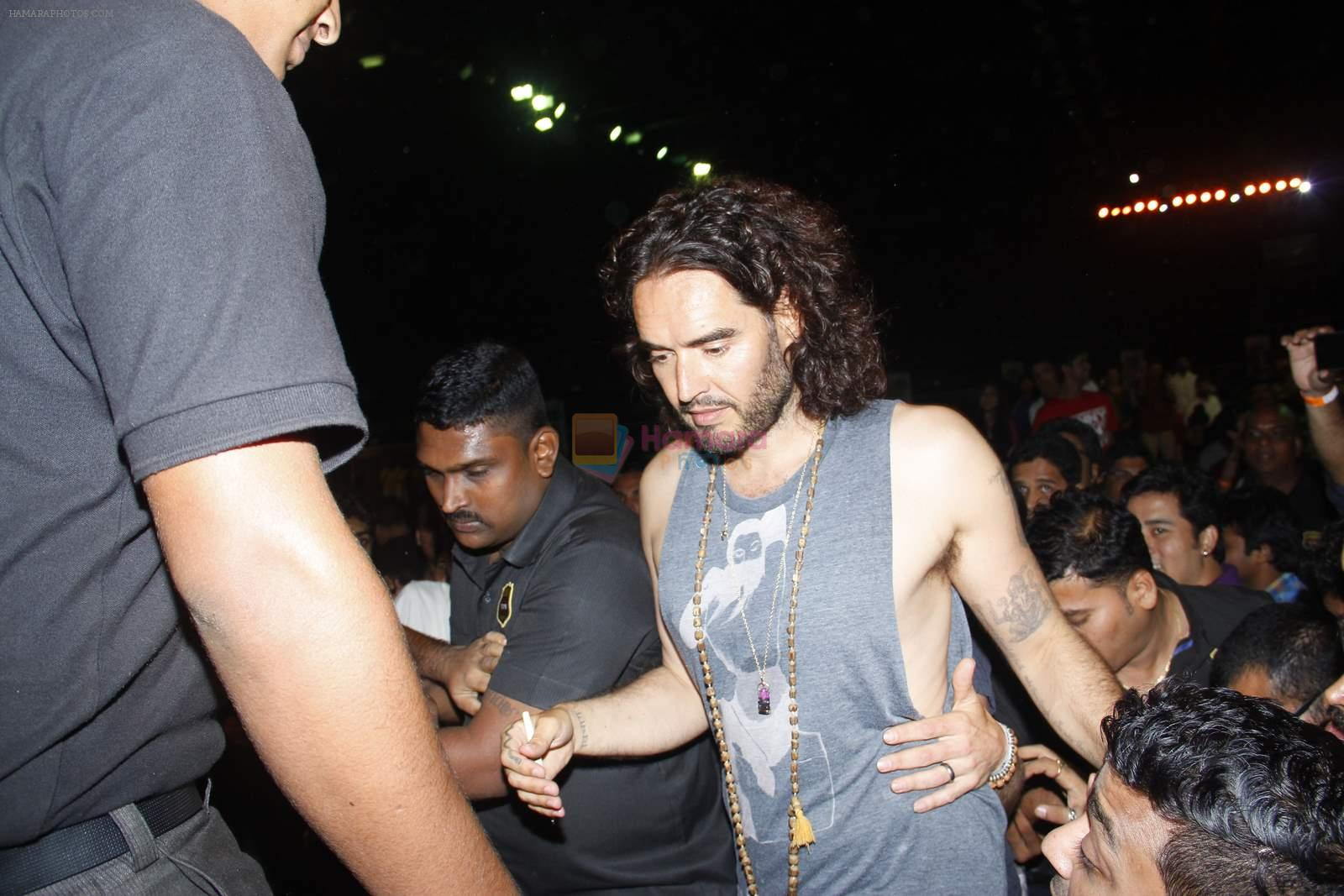 Russell Brand live show on 28th June 2015
