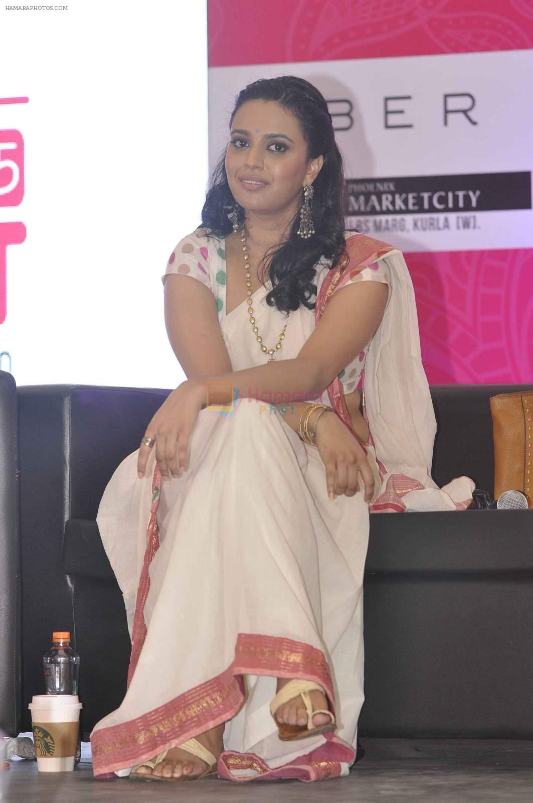 Swara Bhaskar at Phoneix Market City in Kurla, Mumbai on 28th June 2015
