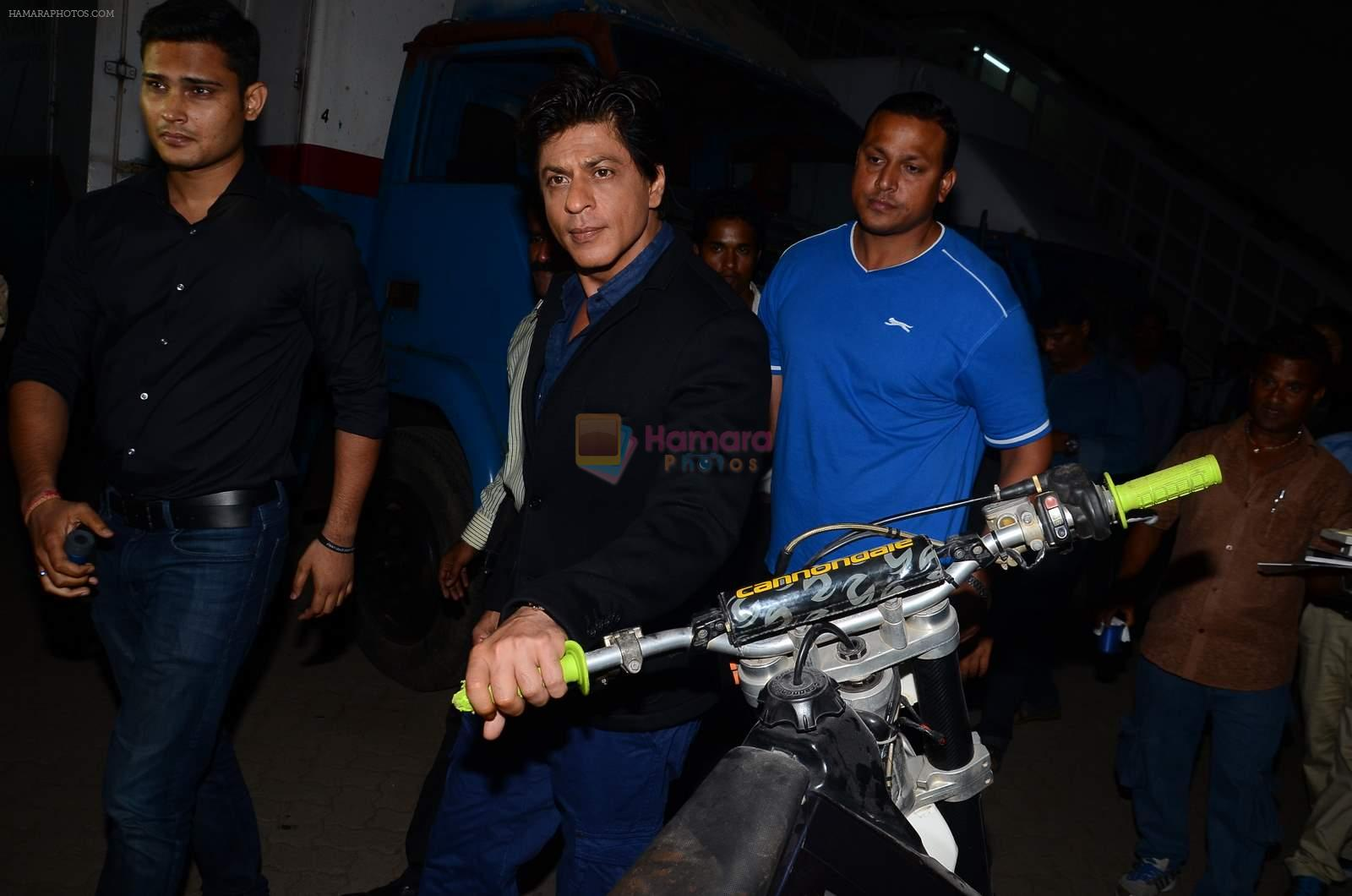 Shah Rukh Khan launches Tag Heuer's Don_t Crack Under Pressure initiative in Mumbai on 29th June 2015