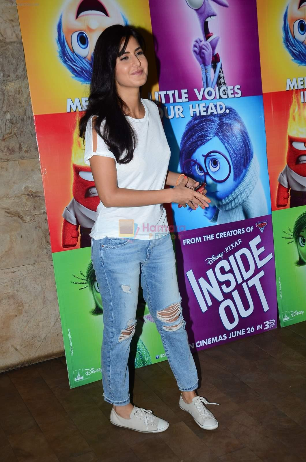 Katrina Kaif at Inside Outside screening at lightbox on 30th June 2015