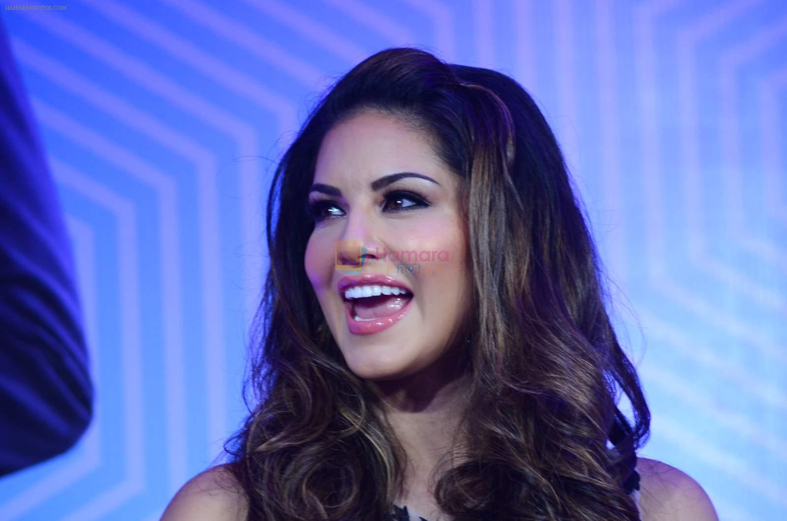 Sunny Leone at mtv splistvilla bash in Mumbai on 30th June 2015