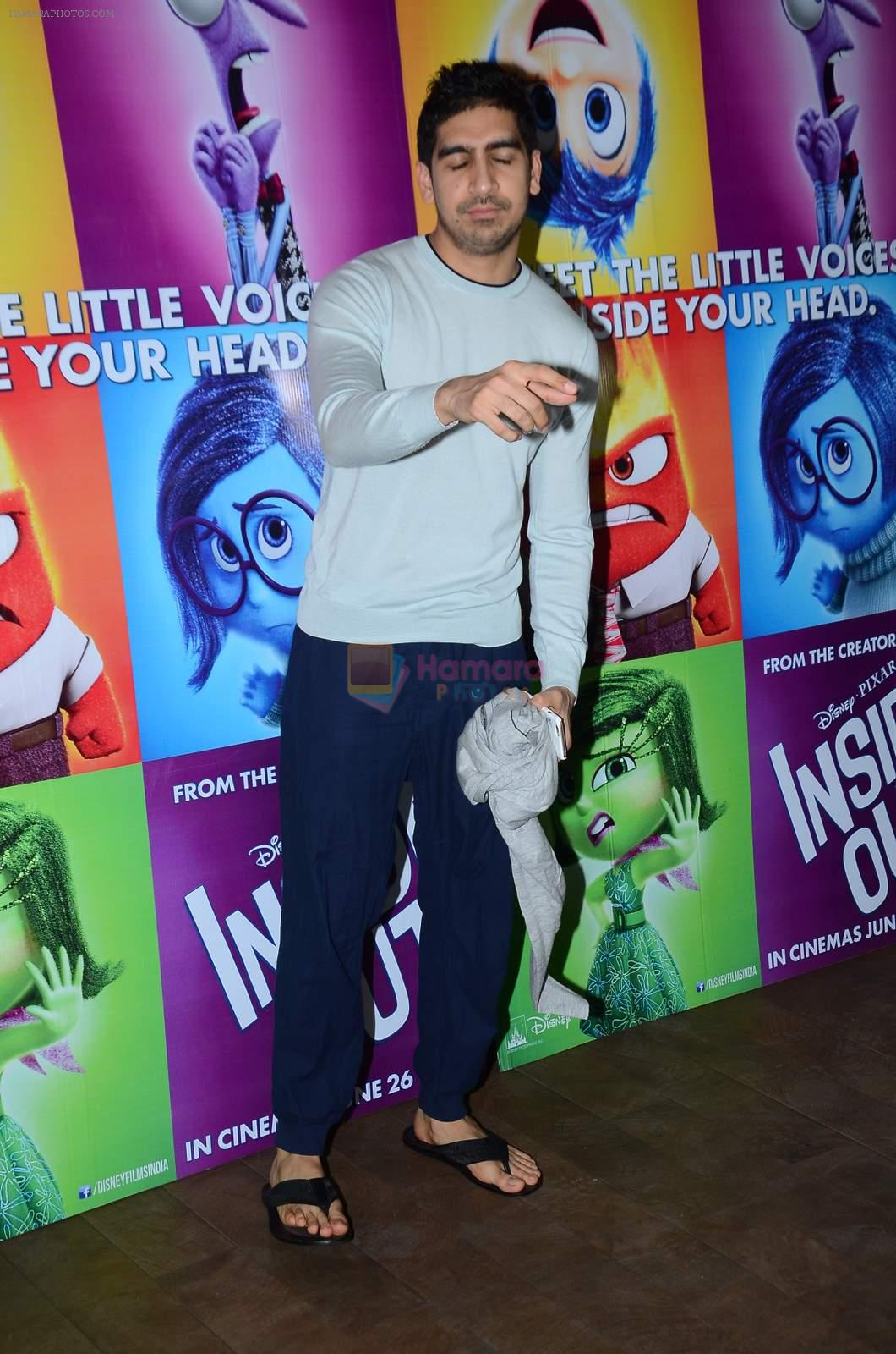 Ayan Mukerji at Inside Outside screening at lightbox on 30th June 2015