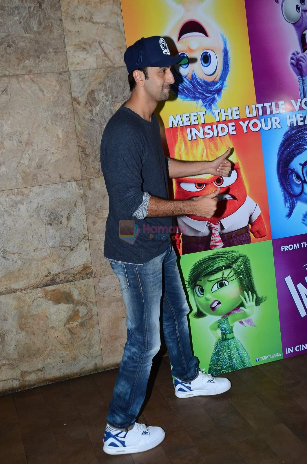 Ranbir Kapoor at Inside Outside screening at lightbox on 30th June 2015