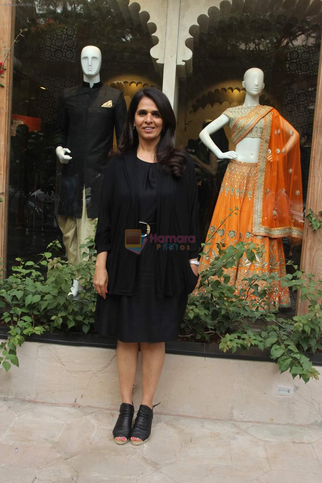 Anita Dongre and Vogue Wedding show preview in Khar on 3rd July 2015
