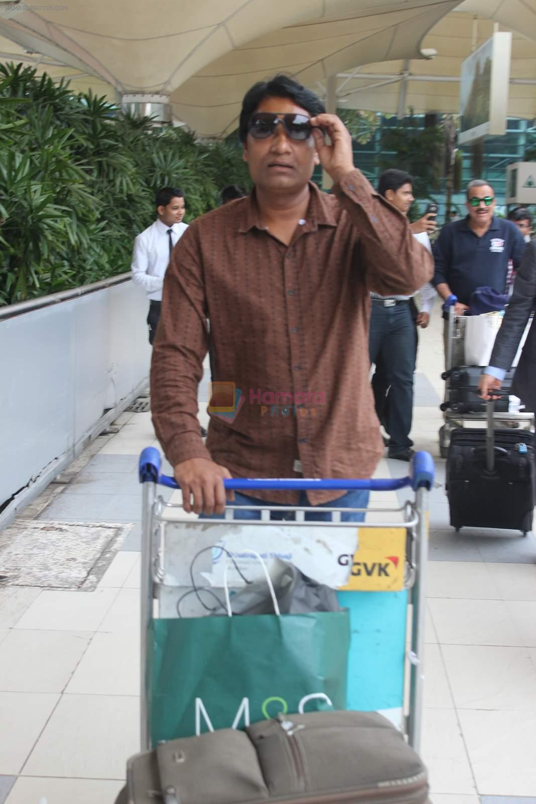Aditya Srivastava snapped at airport on 24th July 2015