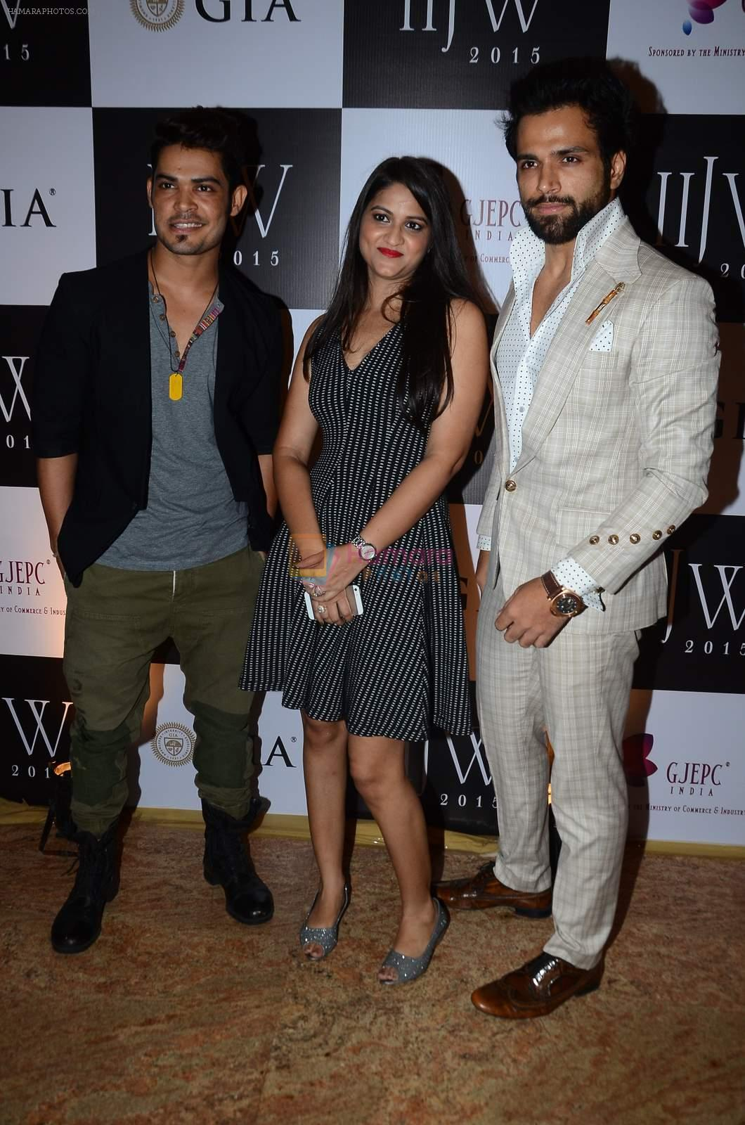 Rithvik Dhanjani on Day 3 of IIJW 2015 on 5th Aug 2015