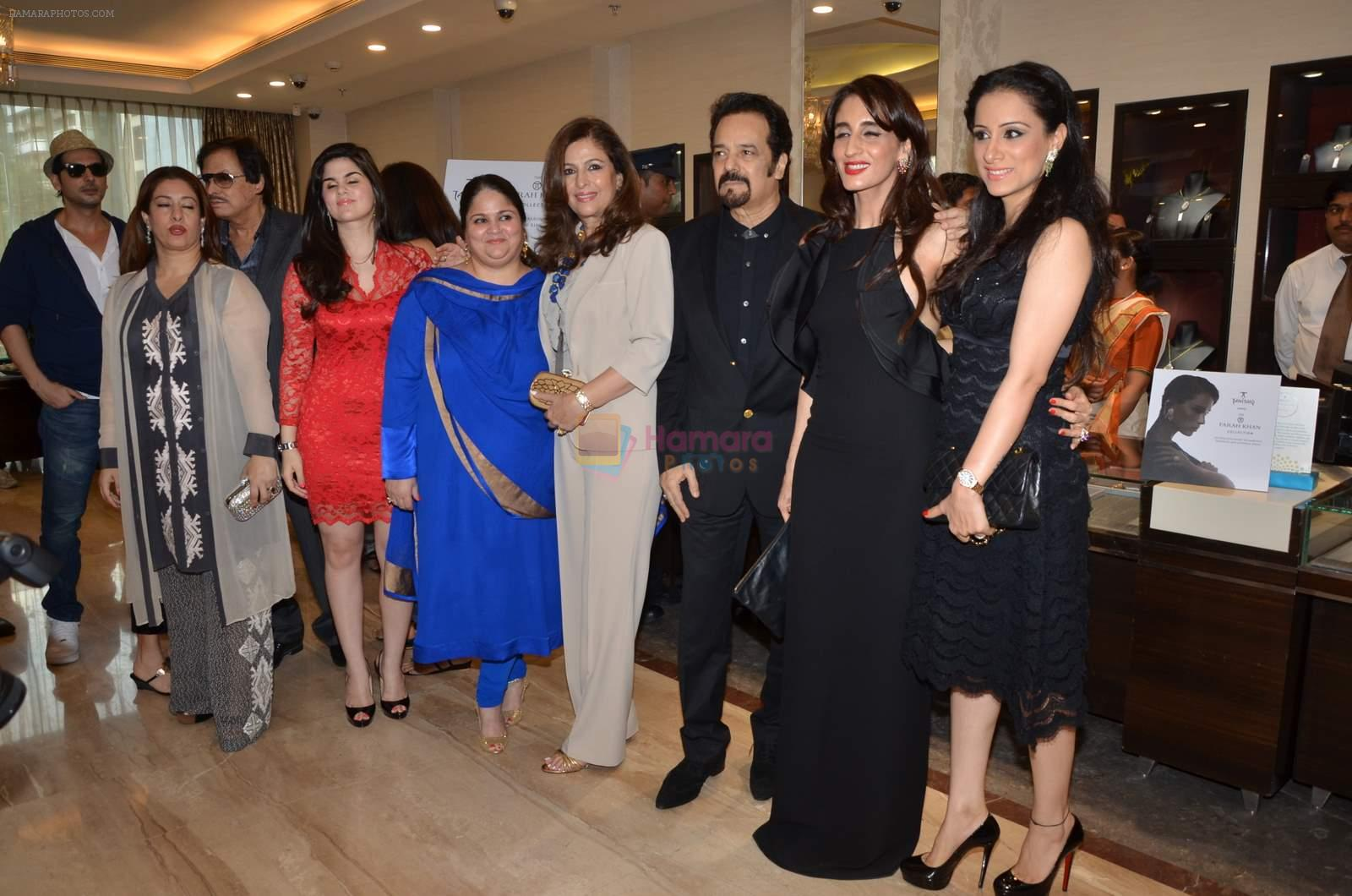 Akbar Khan at Farah Khan Ali's new collection launch with Tanishq in Andheri, Mumbai on 13th Aug 2015