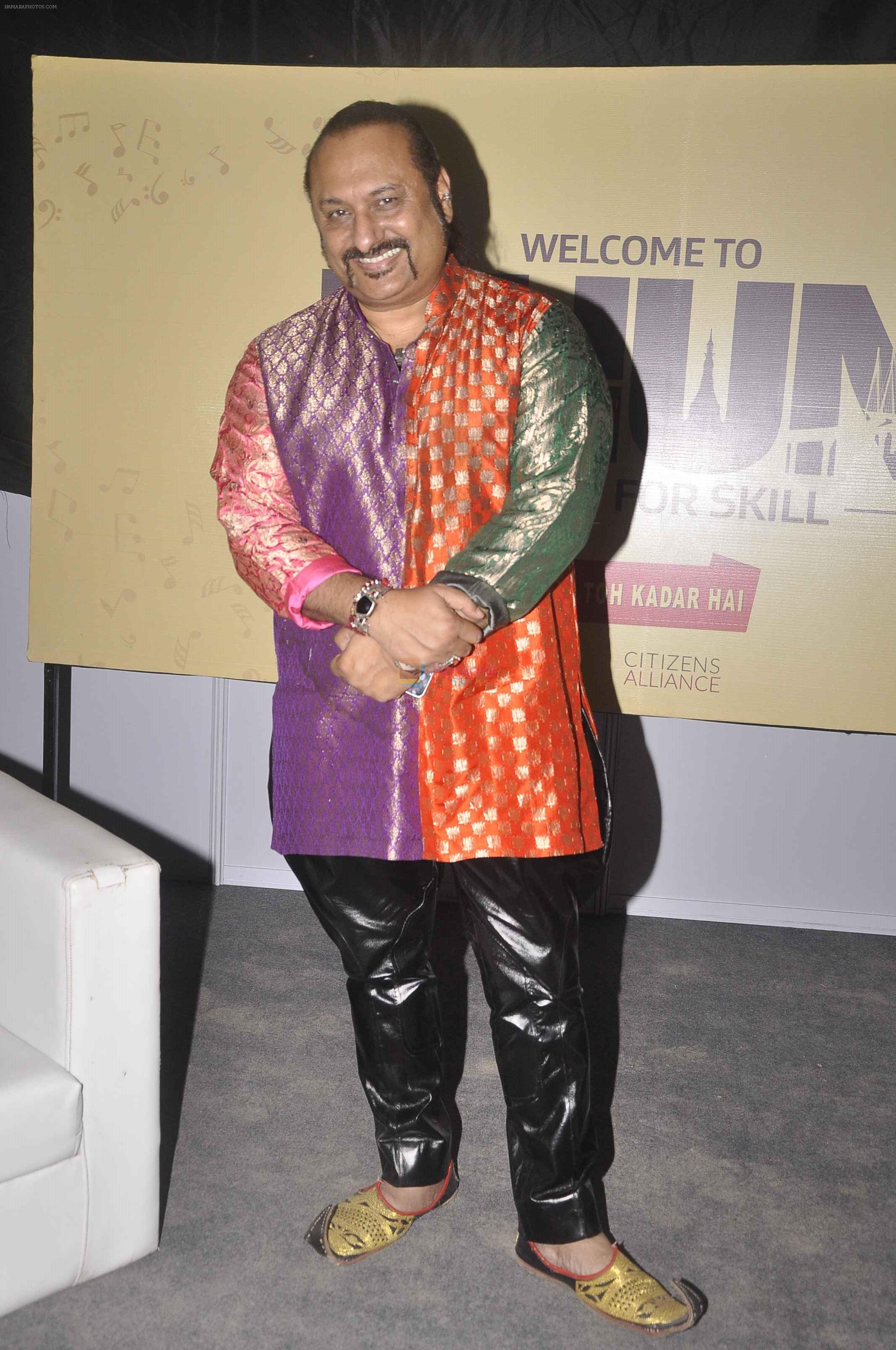 Lesle Lewis at Dhun concert in Byculla, Mumbai on 12th Sept 2015
