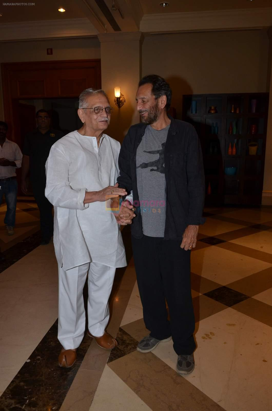 Gulzar, Shekhar Kapur  at Classical app of SAREGAMA launch in J W Marriott on 15th Sept 2015