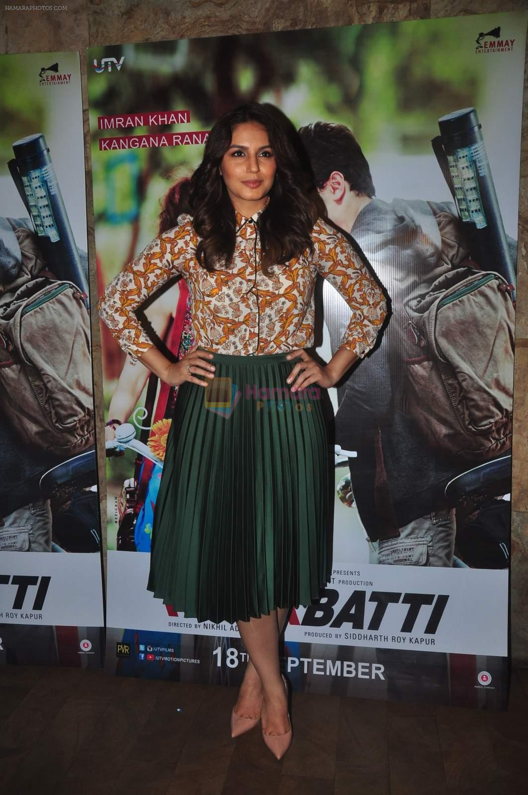 Huma Qureshi at Katti Batti screening hosted by Kangana on 17th Sept 2015