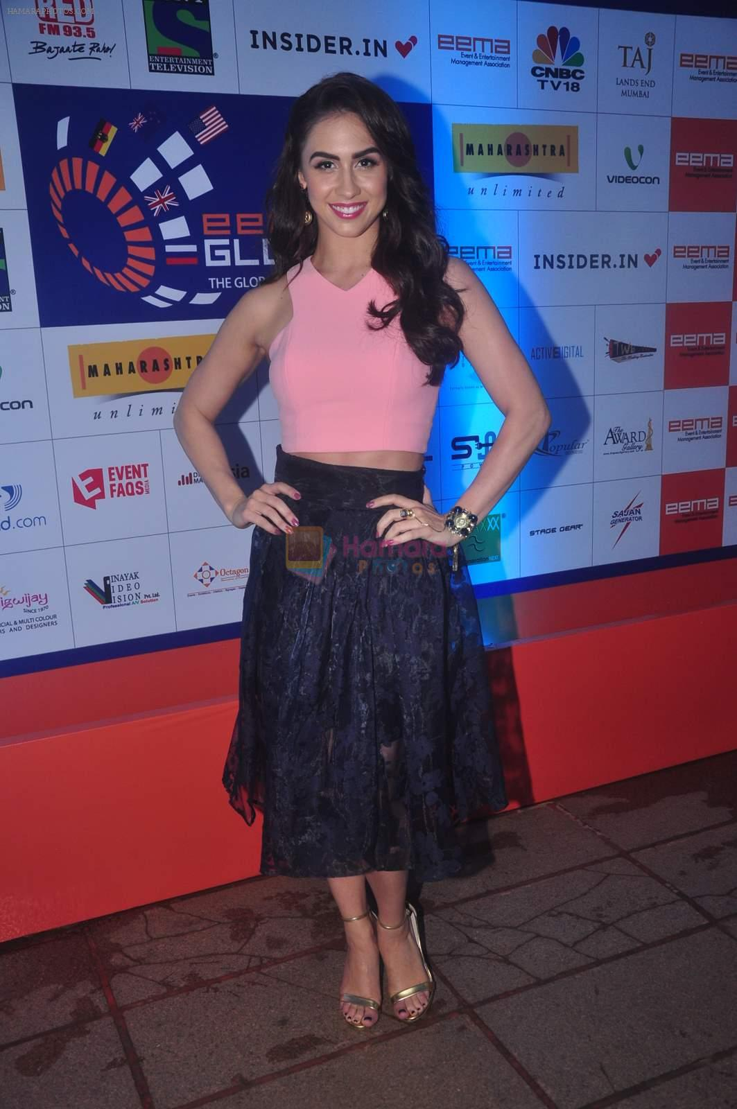 Lauren Gottlieb at Glow Show at EEMAX event on 20th Sept 2015