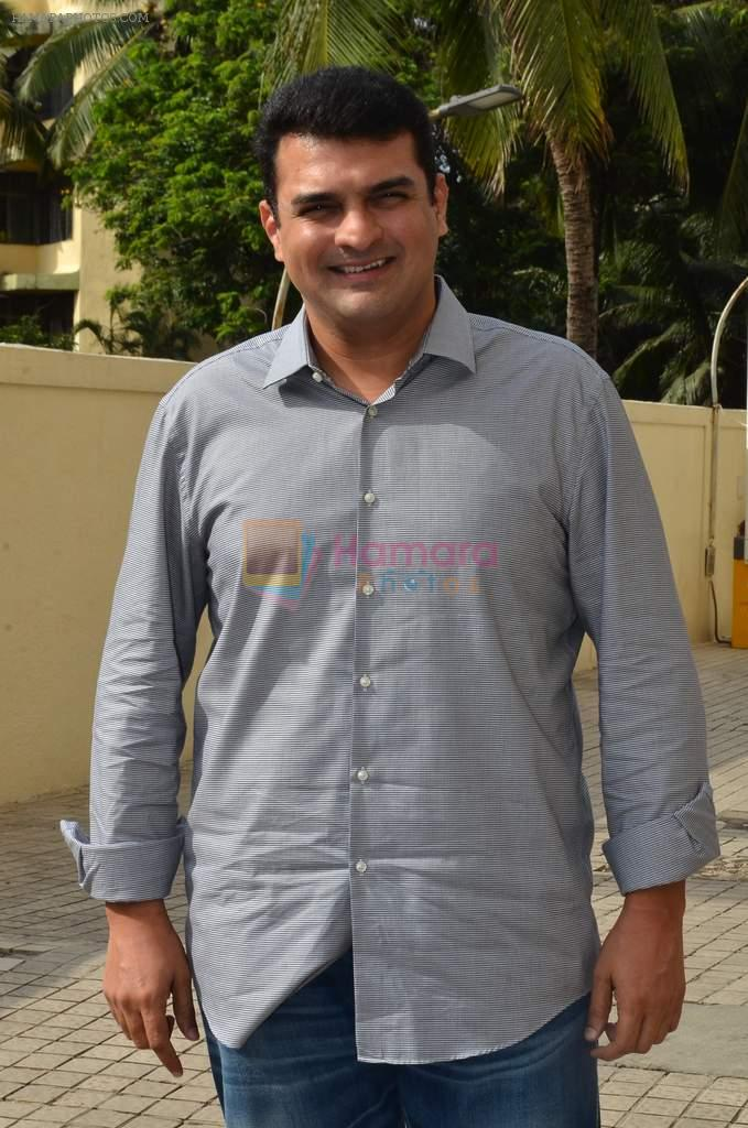 Siddharth Roy Kapur at Tamasha trailor launch in Mumbai on 22nd Sept 2015
