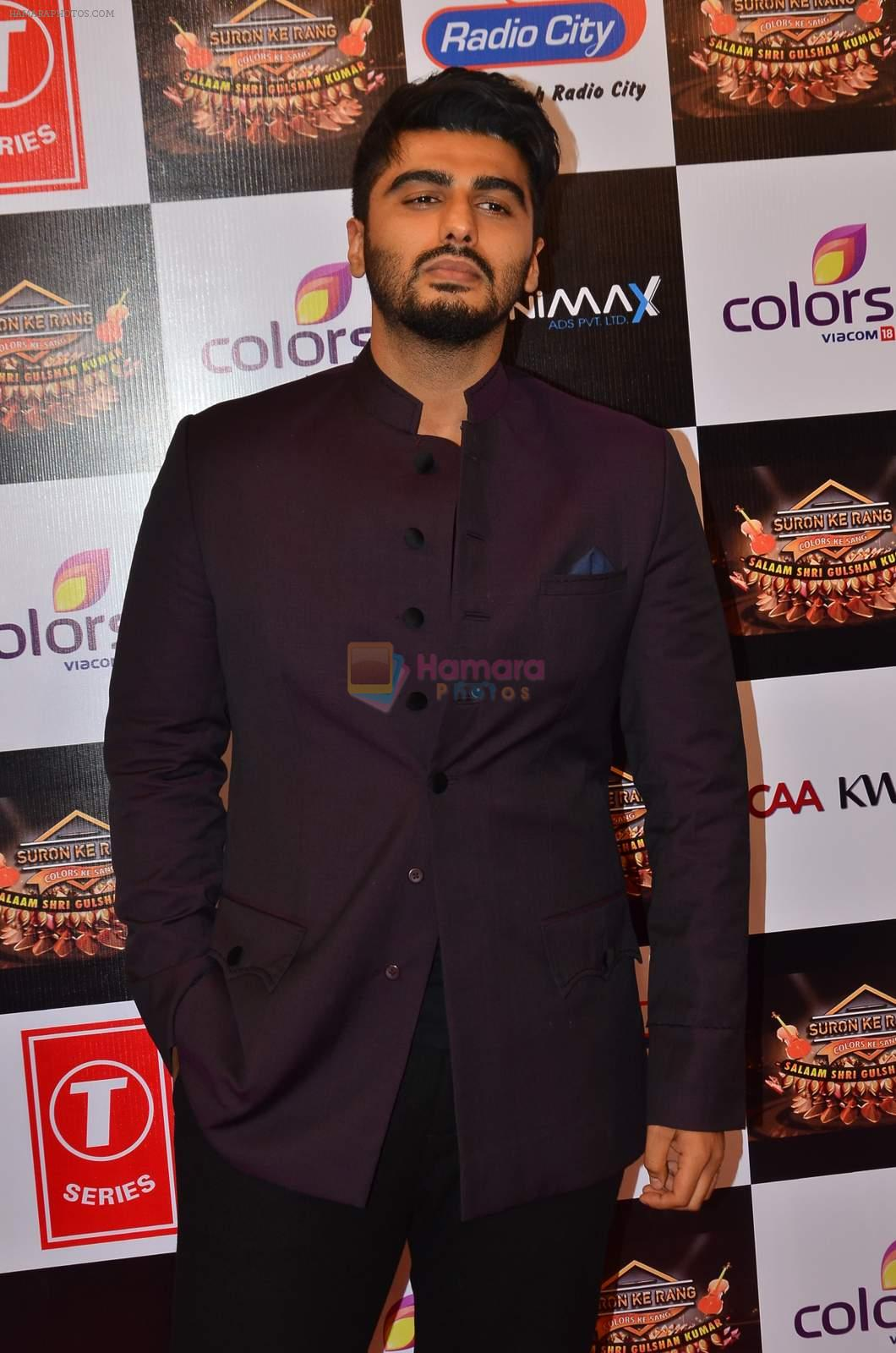 Arjun Kapoor at Gulshan Kumar Tribute in Filmcity on 22nd Sept 2015