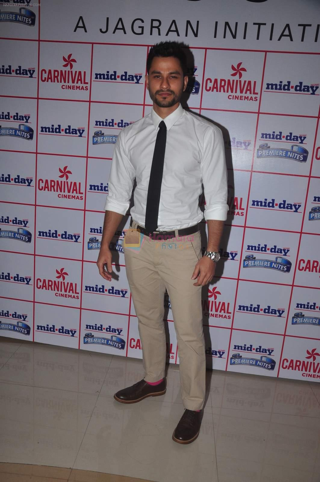 Kunal Khemu at Bhaag jhonny premiere on 24th Sept 2015