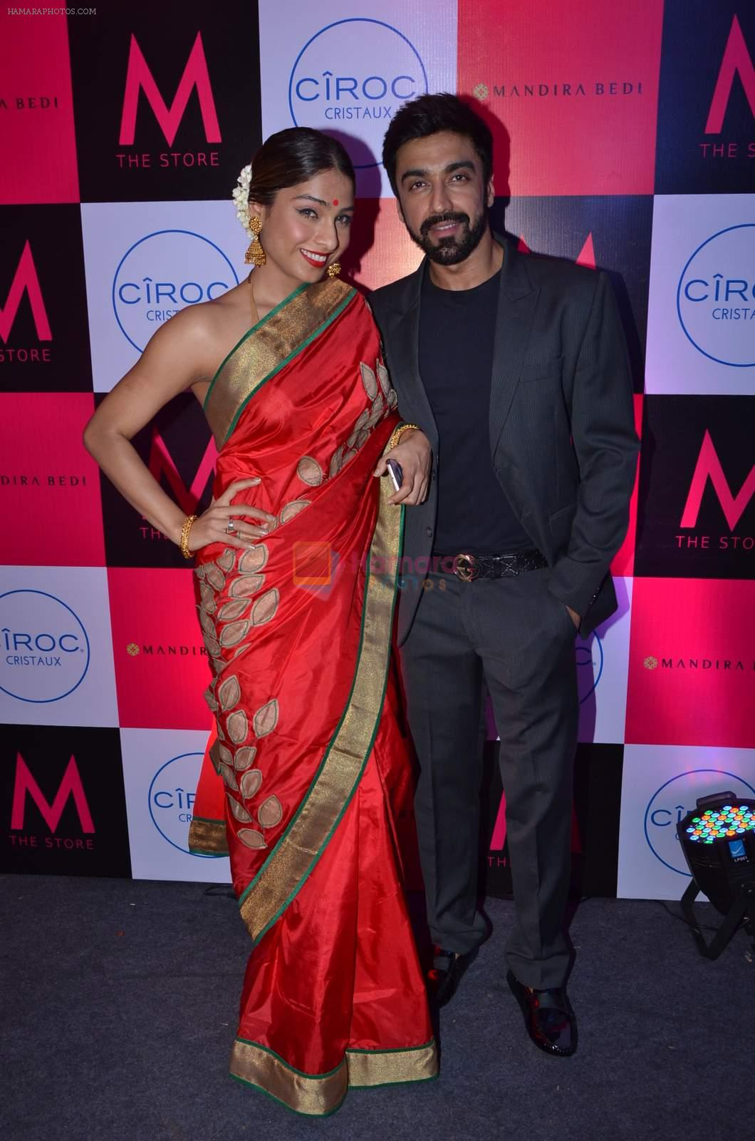Aashish Chaudhary at Mandira Bedi store launch in Mumbai on 15th Oct 2015