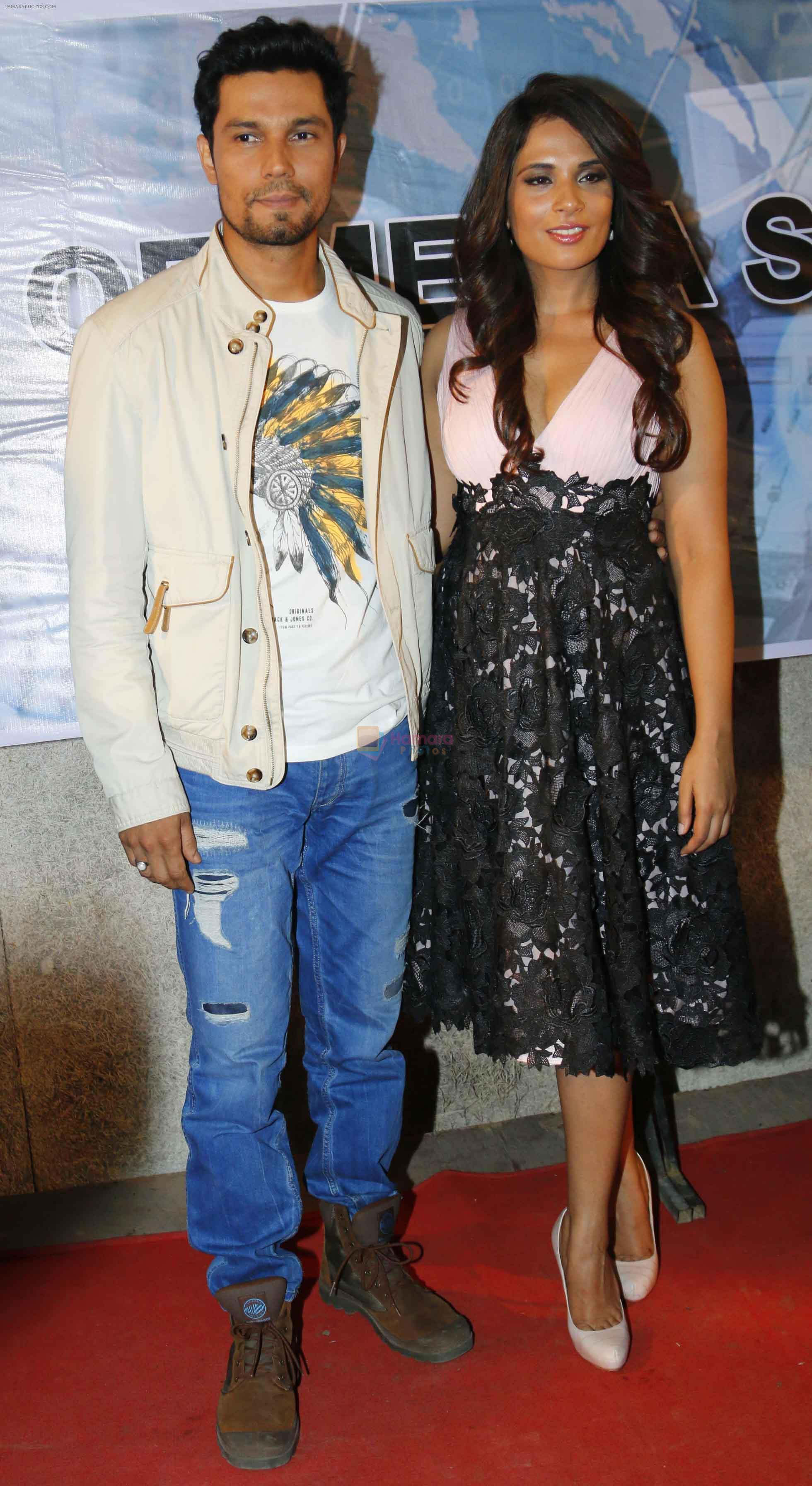 Randeep Hooda Richa Chadda During The Upcoming Film Main Or Charles
