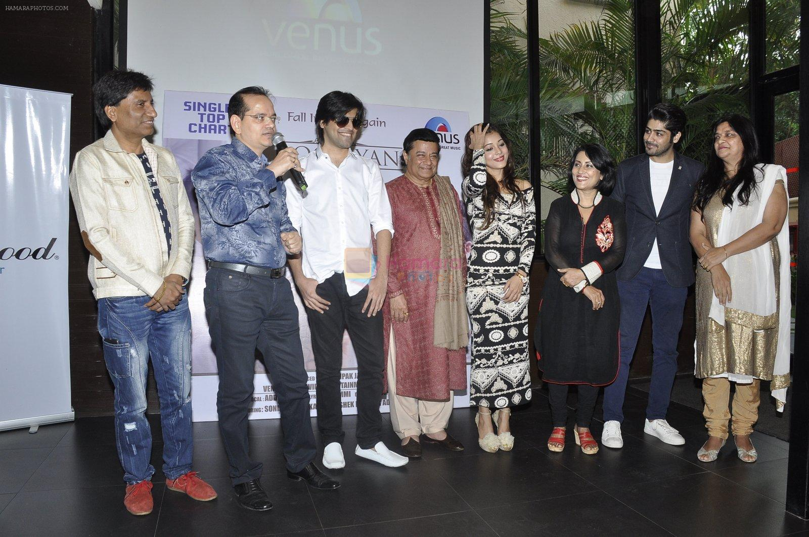Anup Jalota, Madhushree  at Dooriyan Venus album launch on 6th Nov 2015