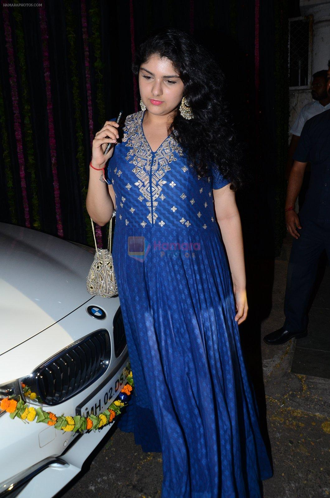 at Anil Kapoor's Diwali Bash on 11th Nov 2015