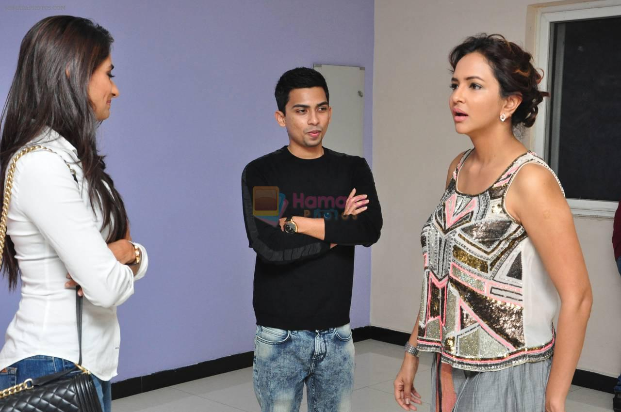 Manchu Lakshmi at Angry Indian Goddess press meet on 22nd Nov 2015