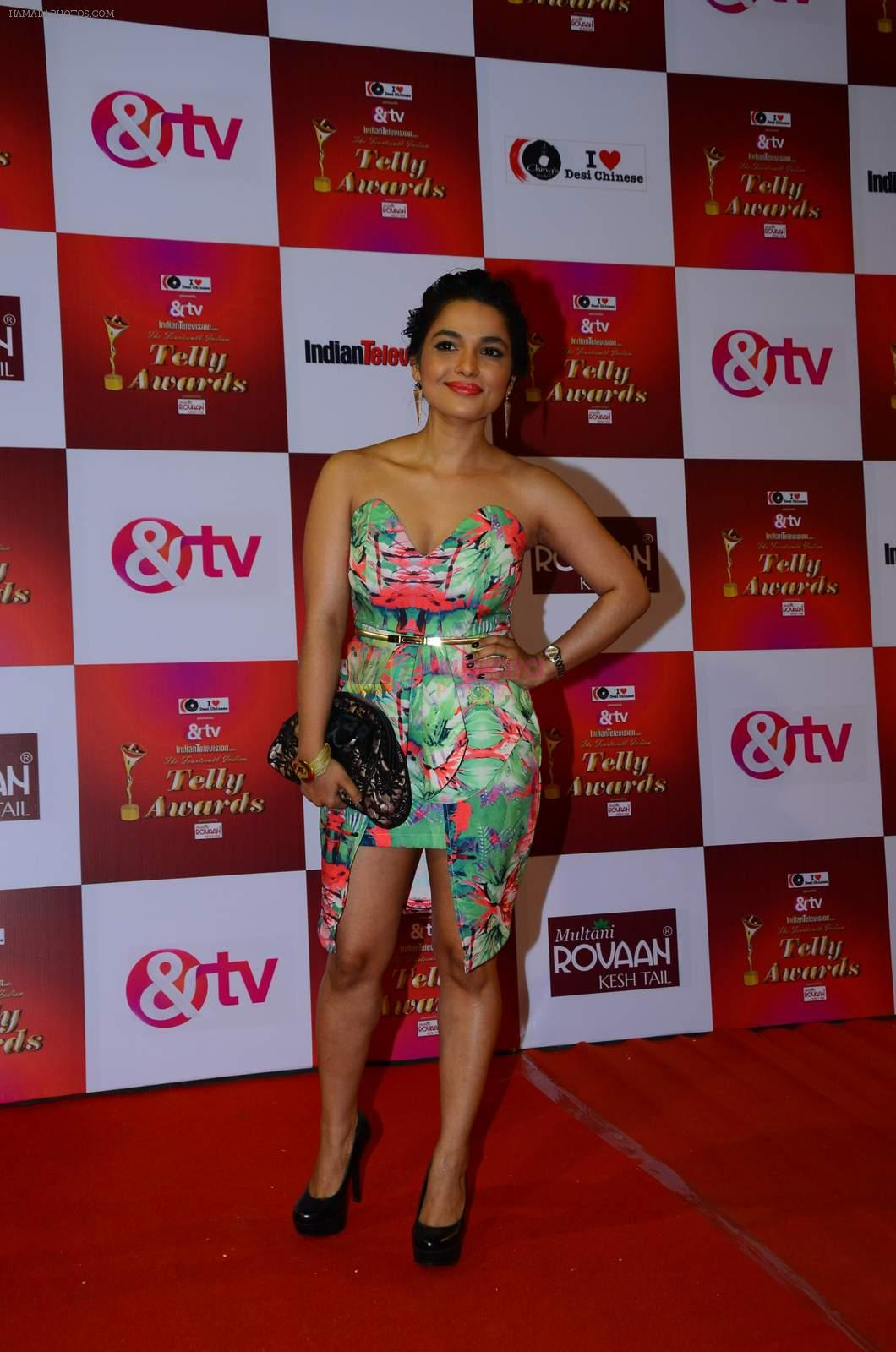 Chitrashi Rawat at Indian telly awards red carpet on 28th Nov 2015