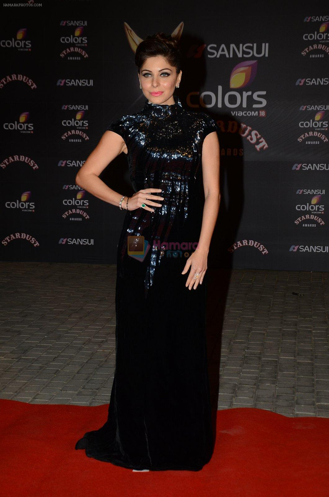 Kanika Kapoor at the red carpet of Stardust awards on 21st ...