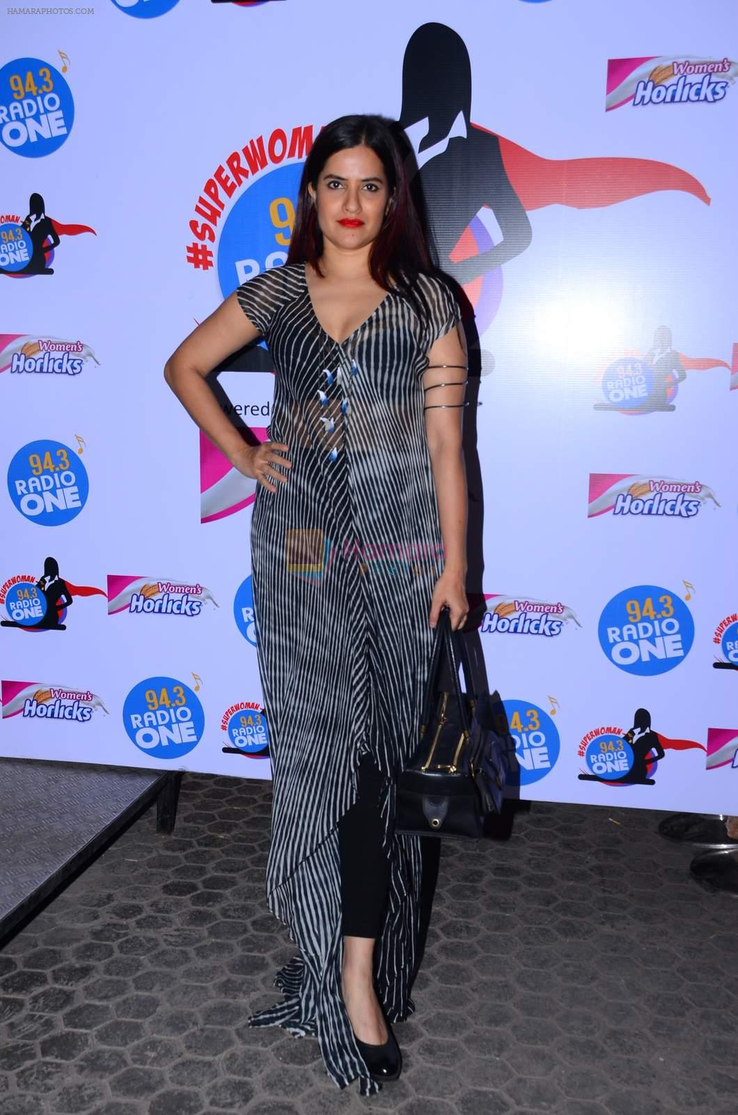 Sona Mohapatra at Radio One Super Women event on 22nd Dec 2015