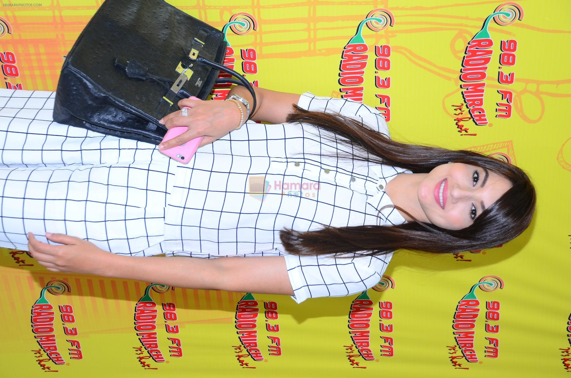 Gauhar khan at Radio Mirchi studio to promote their fim Kya kool hai Hum on 29th Dec 2015