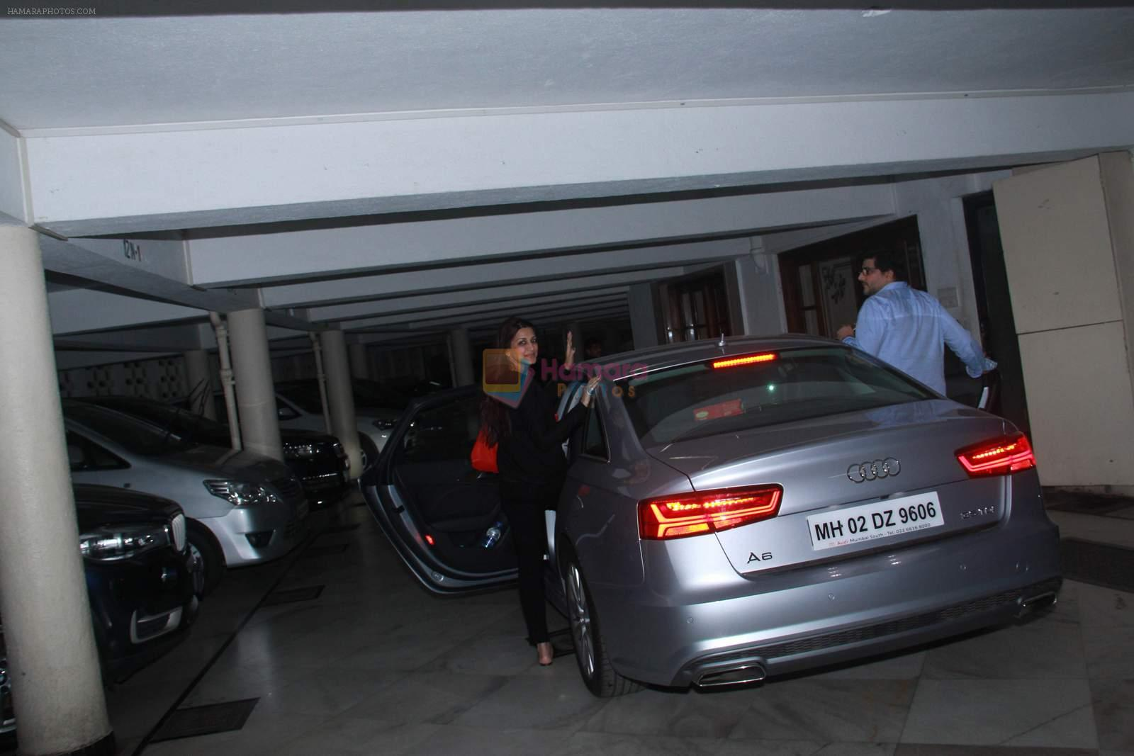 Sonali Bendre at Sameer Nair's party on 29th Dec 2015