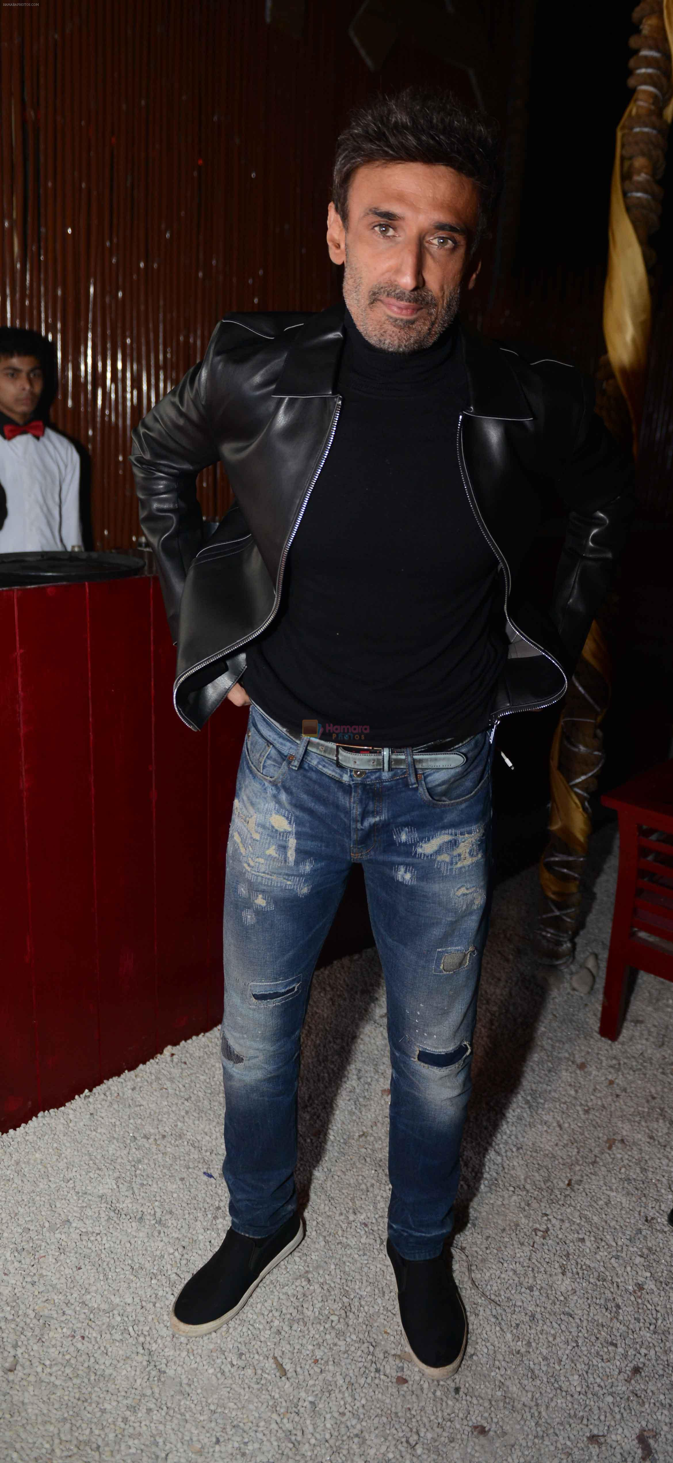 Rahul Dev at the Anniversary of  Cinema Bar & Lounch in GK-2, New delhi on 29th Dec 2015