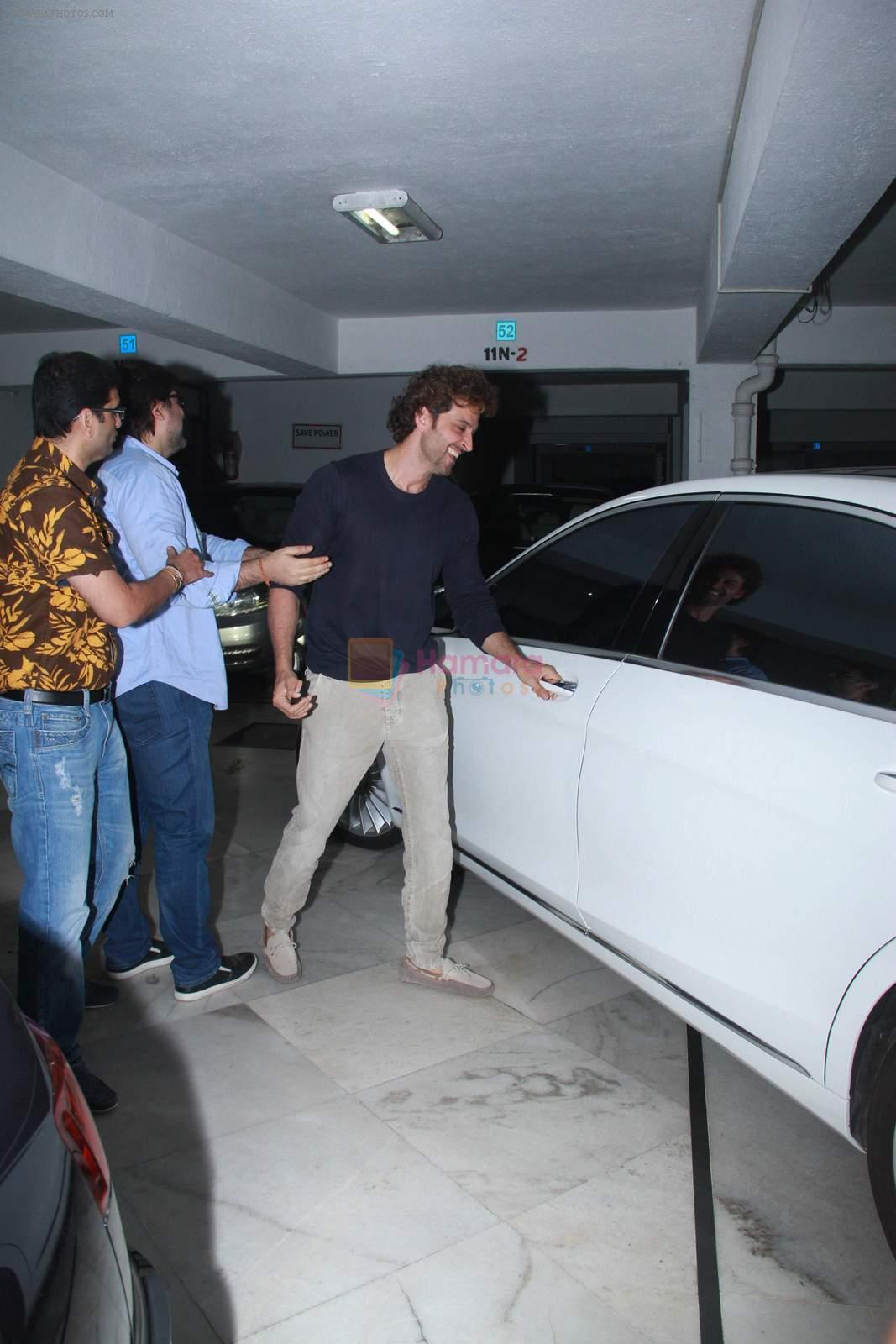Hrithik Roshan at Sameer Nair's party on 29th Dec 2015