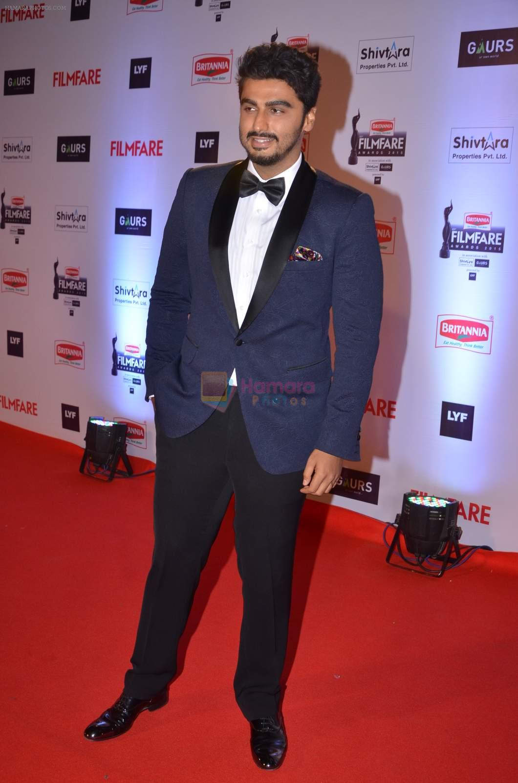 Arjun Kapoor at Filmfare Awards 2016 on 15th Jan 2016