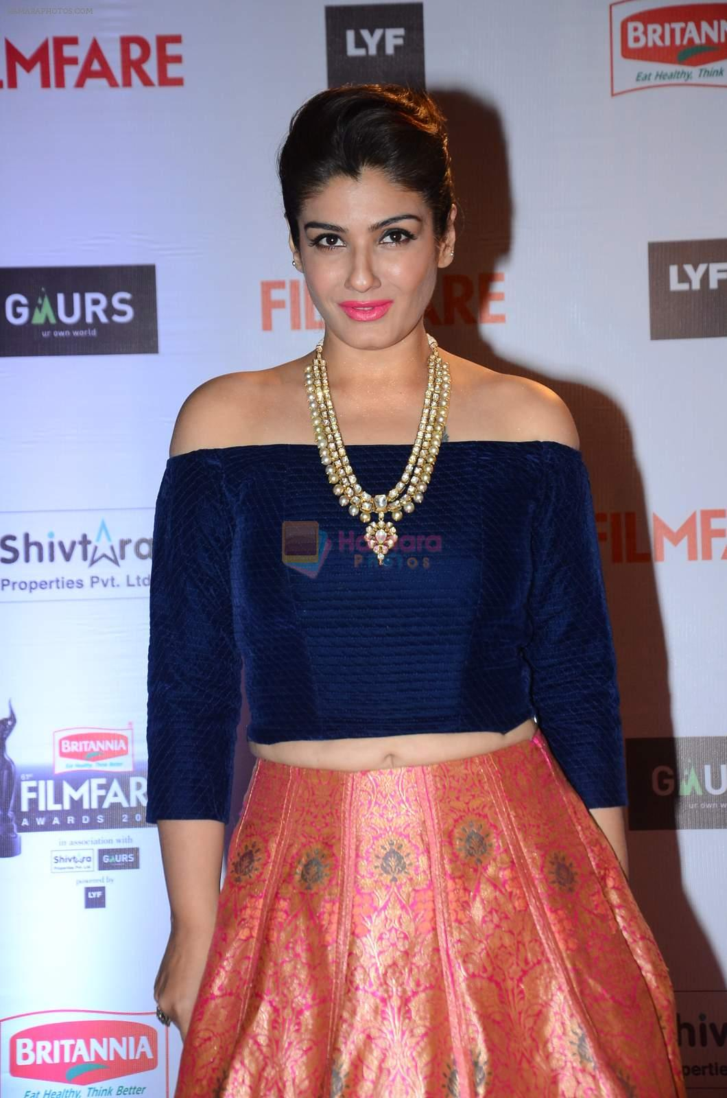 Raveena Tandon at Filmfare Awards 2016 on 15th Jan 2016