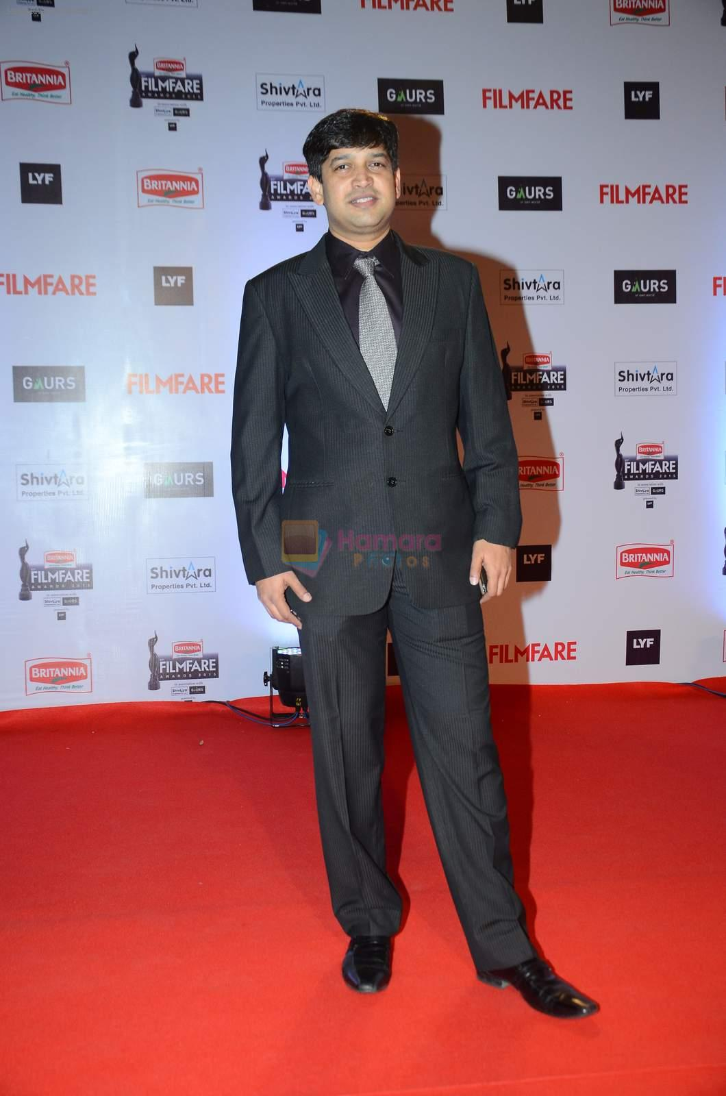 at Filmfare Awards 2016 on 15th Jan 2016