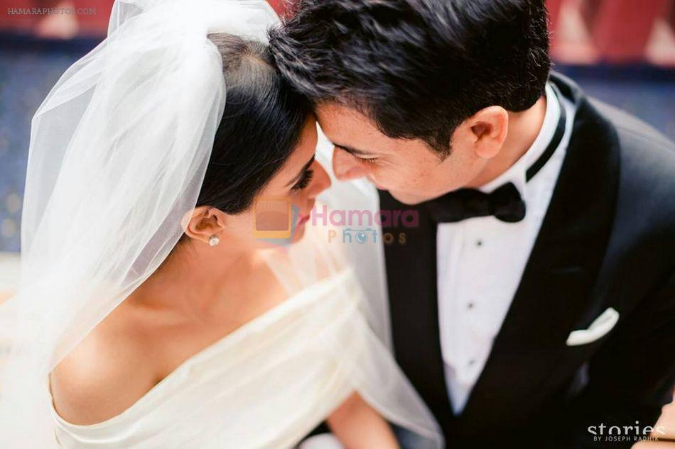 Asin Thottumkal wedding pictures on 22nd Jan 2016