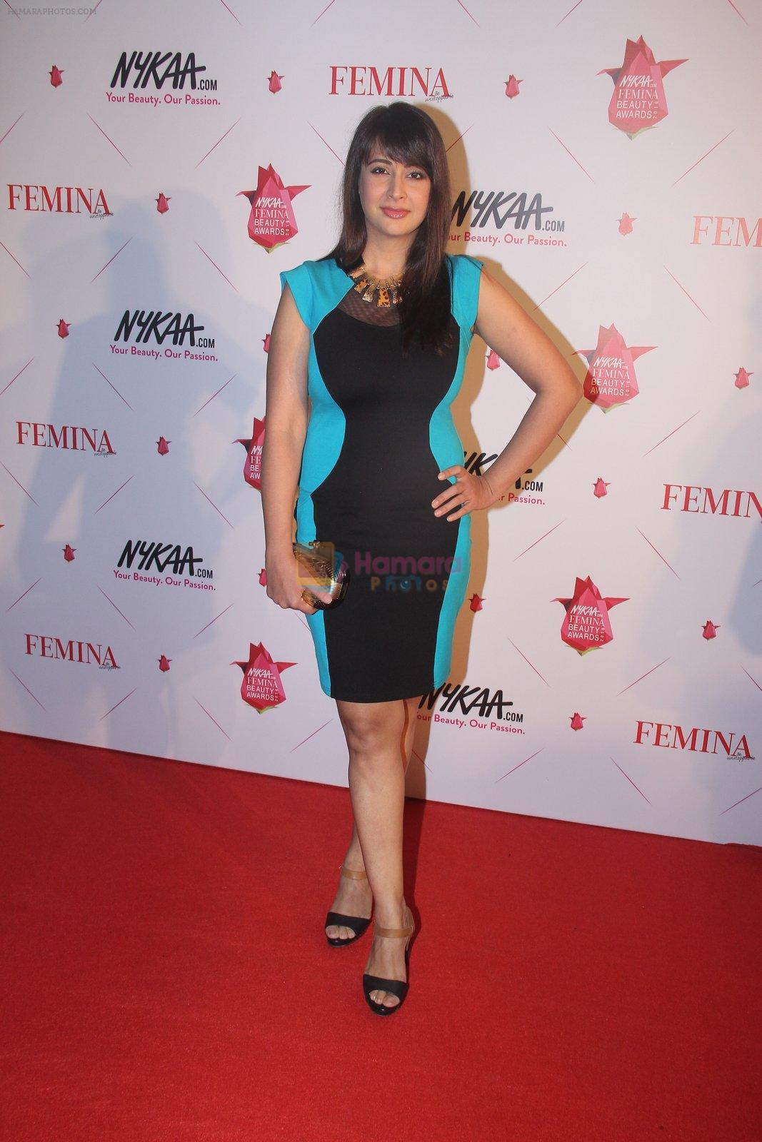 Preeti Jhangiani at Femina Beauty Awards in Mumbai on 5th Feb 2016