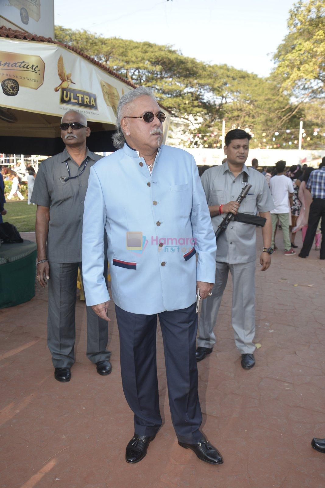 Vijay Mallya at Kingfisher Ultra Derby 2016 on 7th Feb 2016