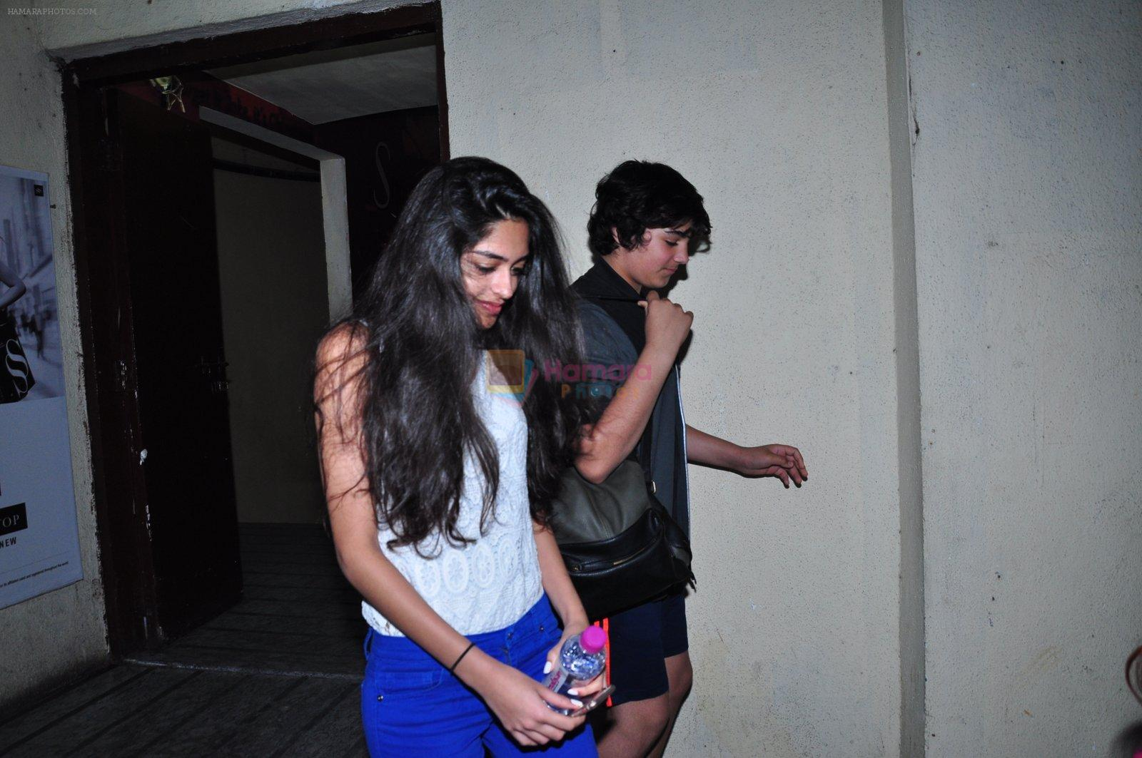 Aarav snapped at PVR Juhu on 11th Feb 2016