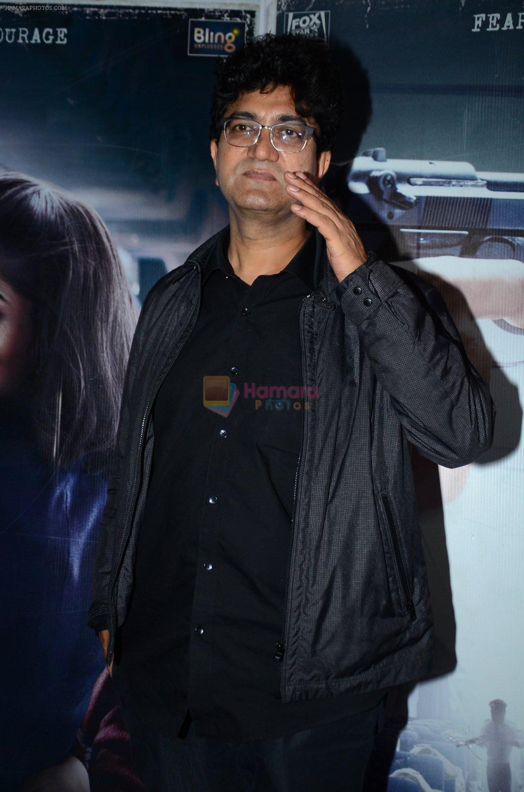 Parsoon Joshi at Neerja Screening in Mumbai on 12th Feb 2016