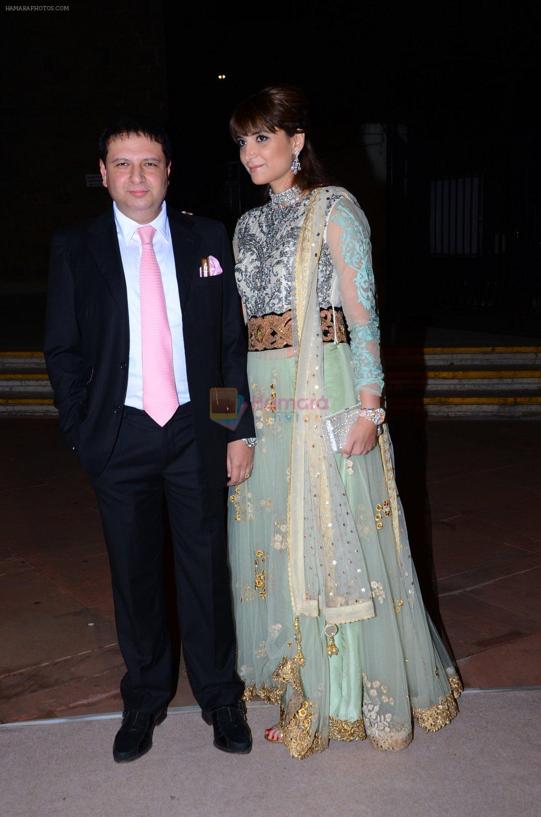 Michelle Poonawala at Shobha De's daughter's wedding in Mumbai on 19th Feb 2016