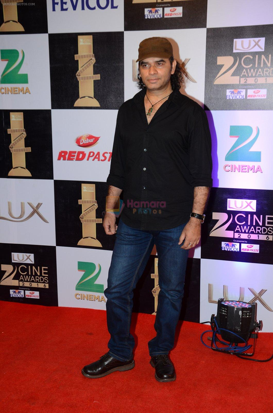Mohit Chauhan at zee cine awards 2016 on 20th Feb 2016