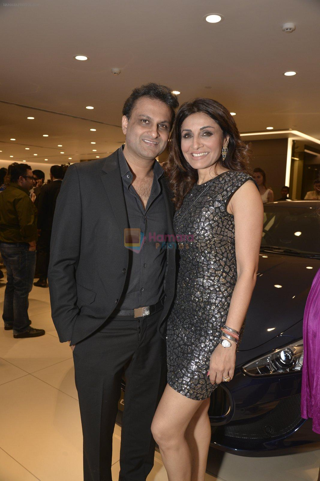 Queenie Dhody at Sukhbir Bagga's Petal Maserati showroom launch  at Taj Hotel Airport in Mumbai on 20th Feb 2016