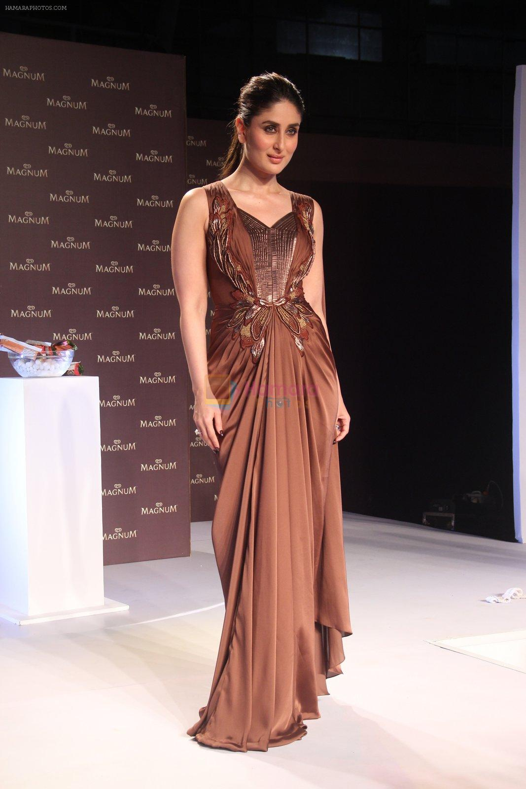 Kareena Kapoor at Magnum launch in Mumbai on 25th Feb 2016