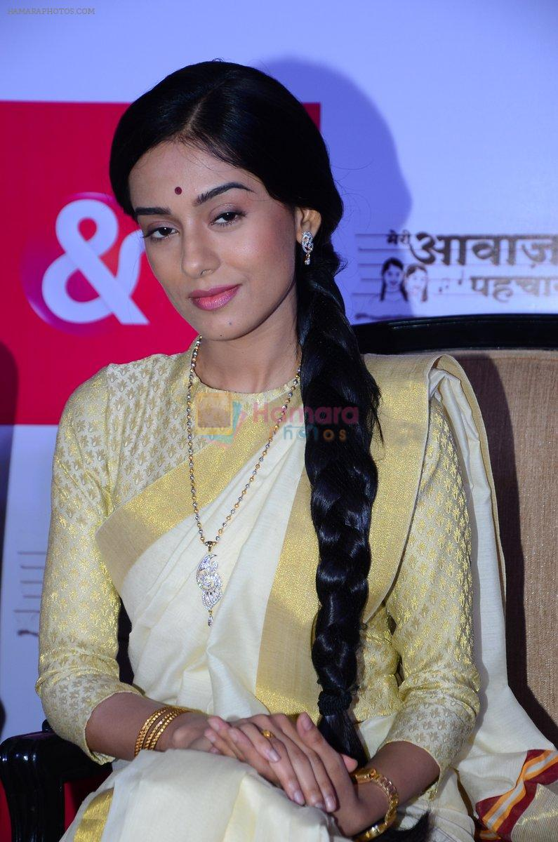 Amrita Rao at new tv show launch in Mumbai on 26th Feb 2016