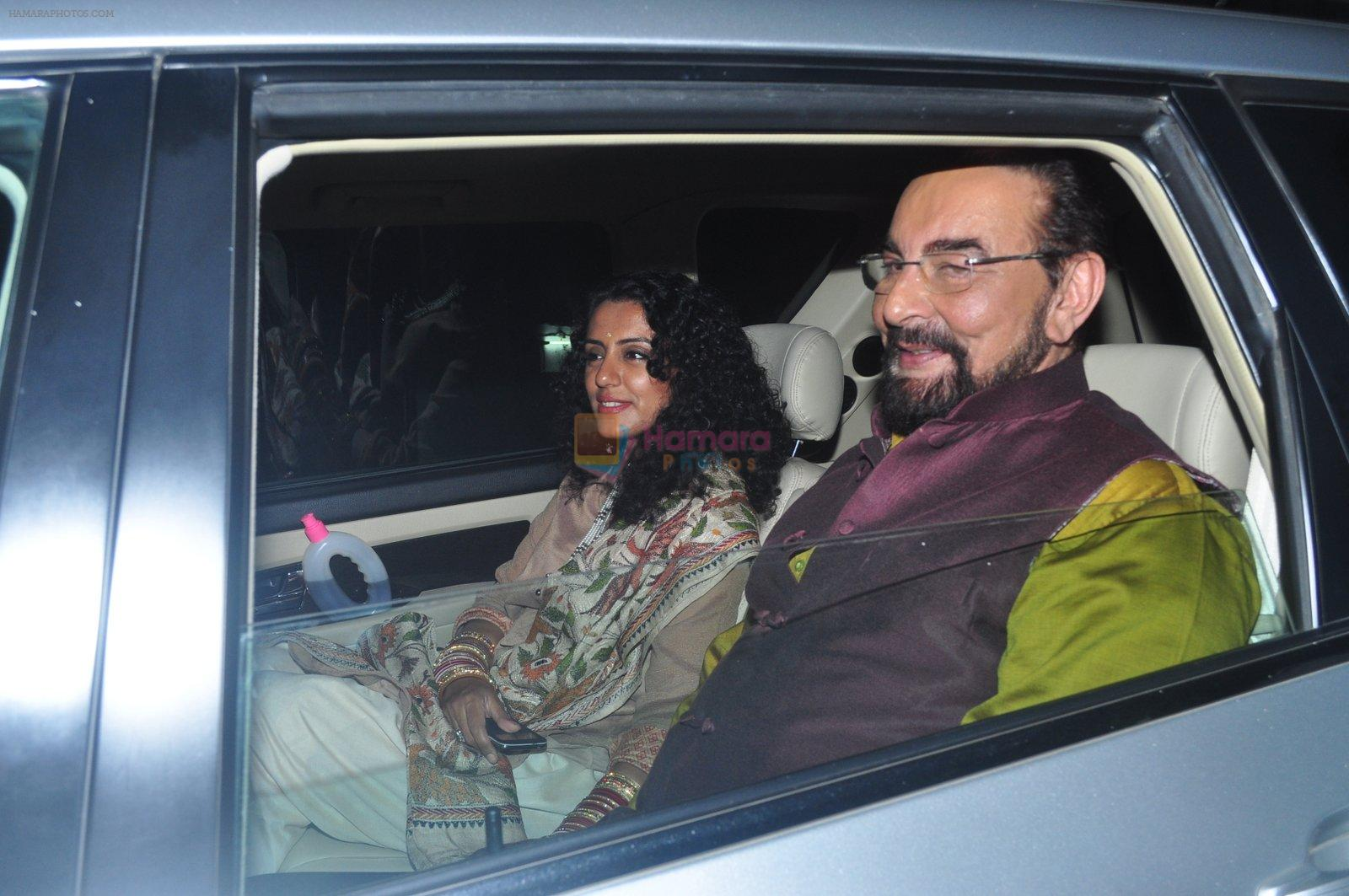 Kabir Bedi at Dr Aggarwal's daughter's wedding in Mumbai on 27th Feb 2016