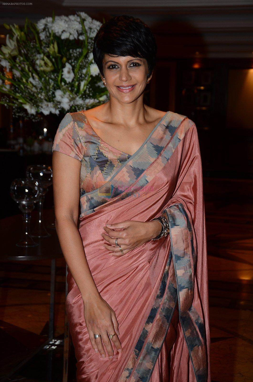 Mandira Bedi at Hinduja launch in Mumbai on 29th Feb 2016