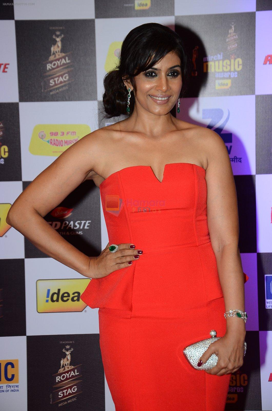 Sonali Kulkarni at radio mirchi awards red carpet in Mumbai on 29th Feb 2016