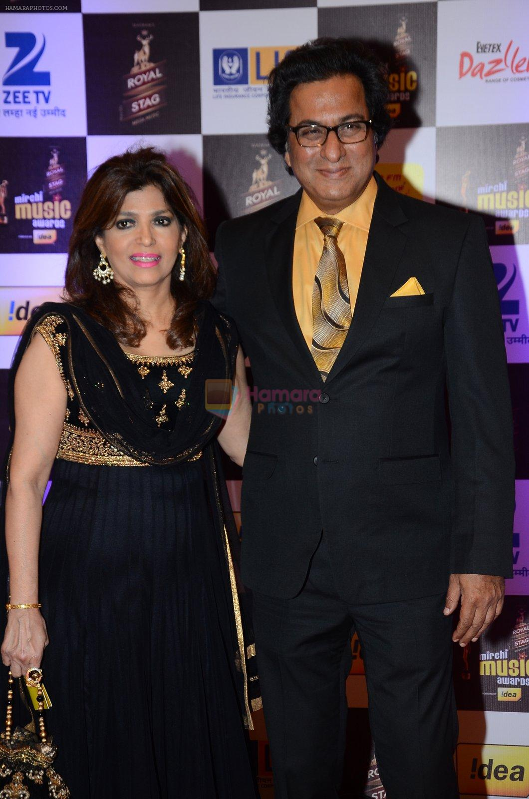Talat Aziz at radio mirchi awards red carpet in Mumbai on 29th Feb 2016