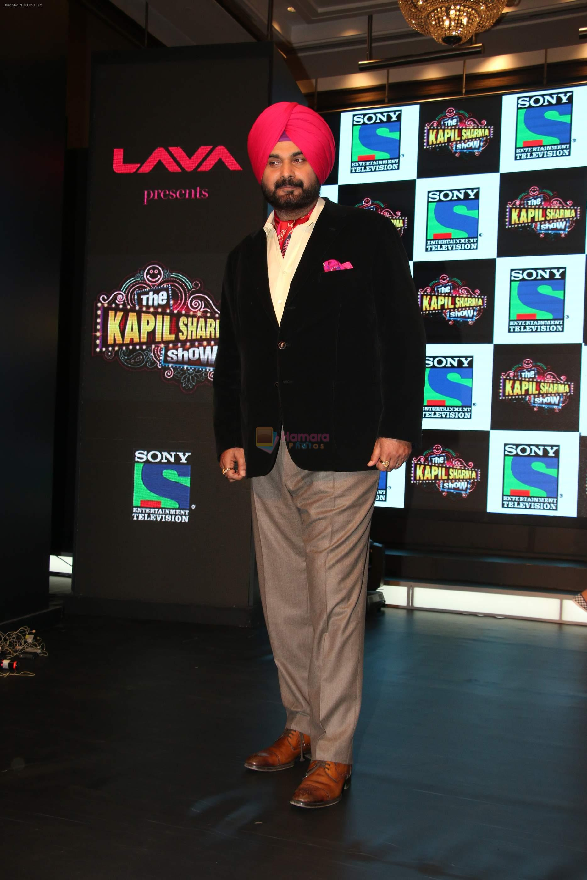 Navjot Singh Sidhu with Kapil Sharma ties up with Sony with new Show The kapil Sharma Show on 1st March 2016